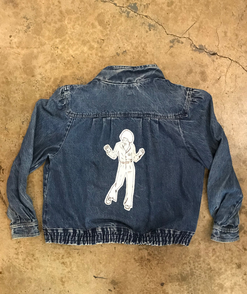 "Yokishop - ""Michael Jackson"" Denim Jacket"