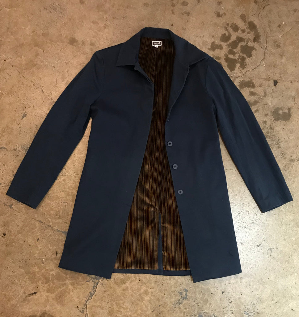 Yokishop - Woman's Peacock Trench Coat