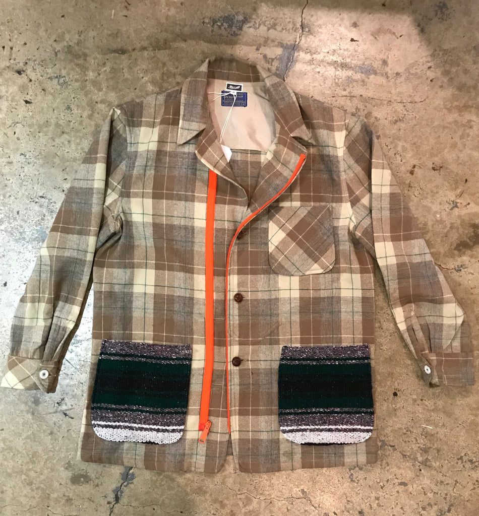 Yokishop - Pendleton Plaid Coat