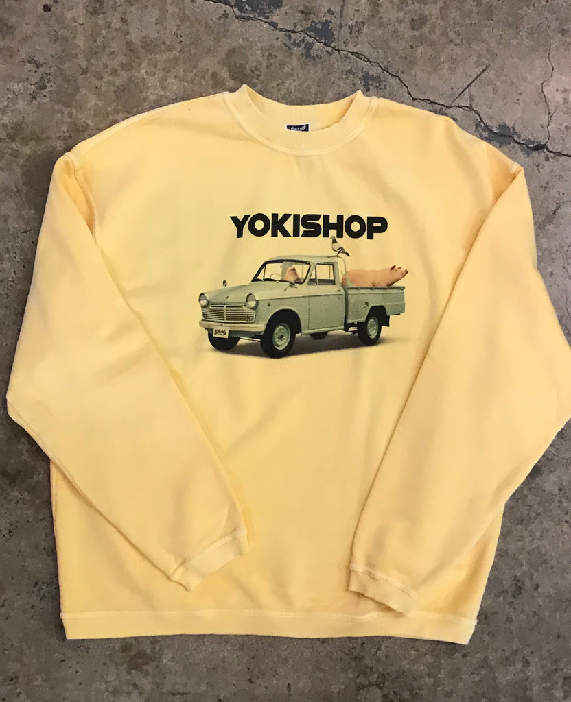 Yokishop - Re-issue ¥$ Farm Truck Logo Sweatshirt