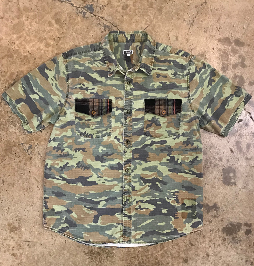 Yokishop - Re-issued Camo Camp Shirt