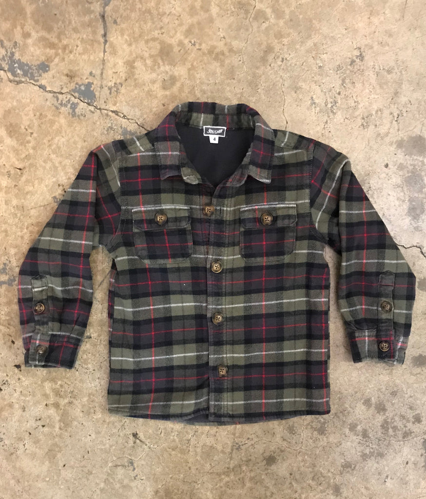 Yokishop - Spaceman Skater Flannel