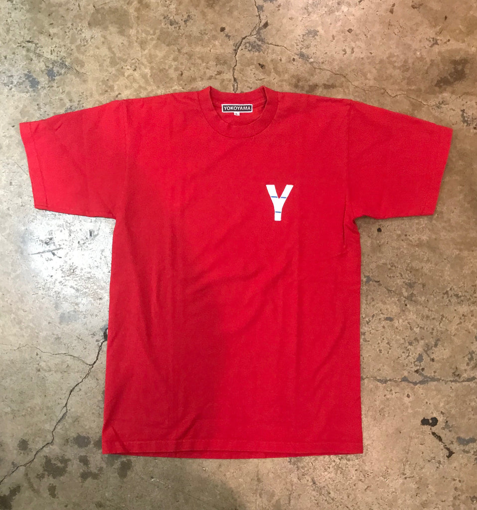 Yokoyama - Basic Red T-Shirt