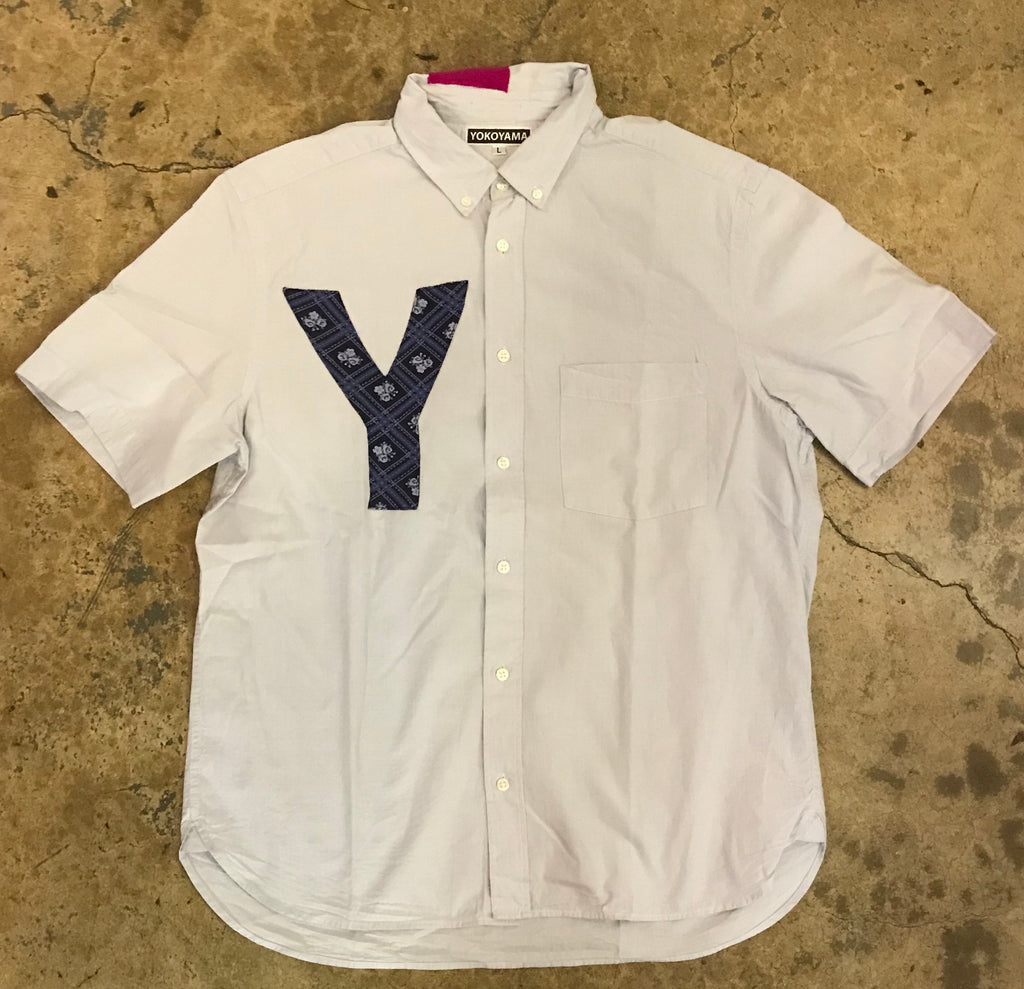 Yokoyama - Blue Short Sleeve Button Down