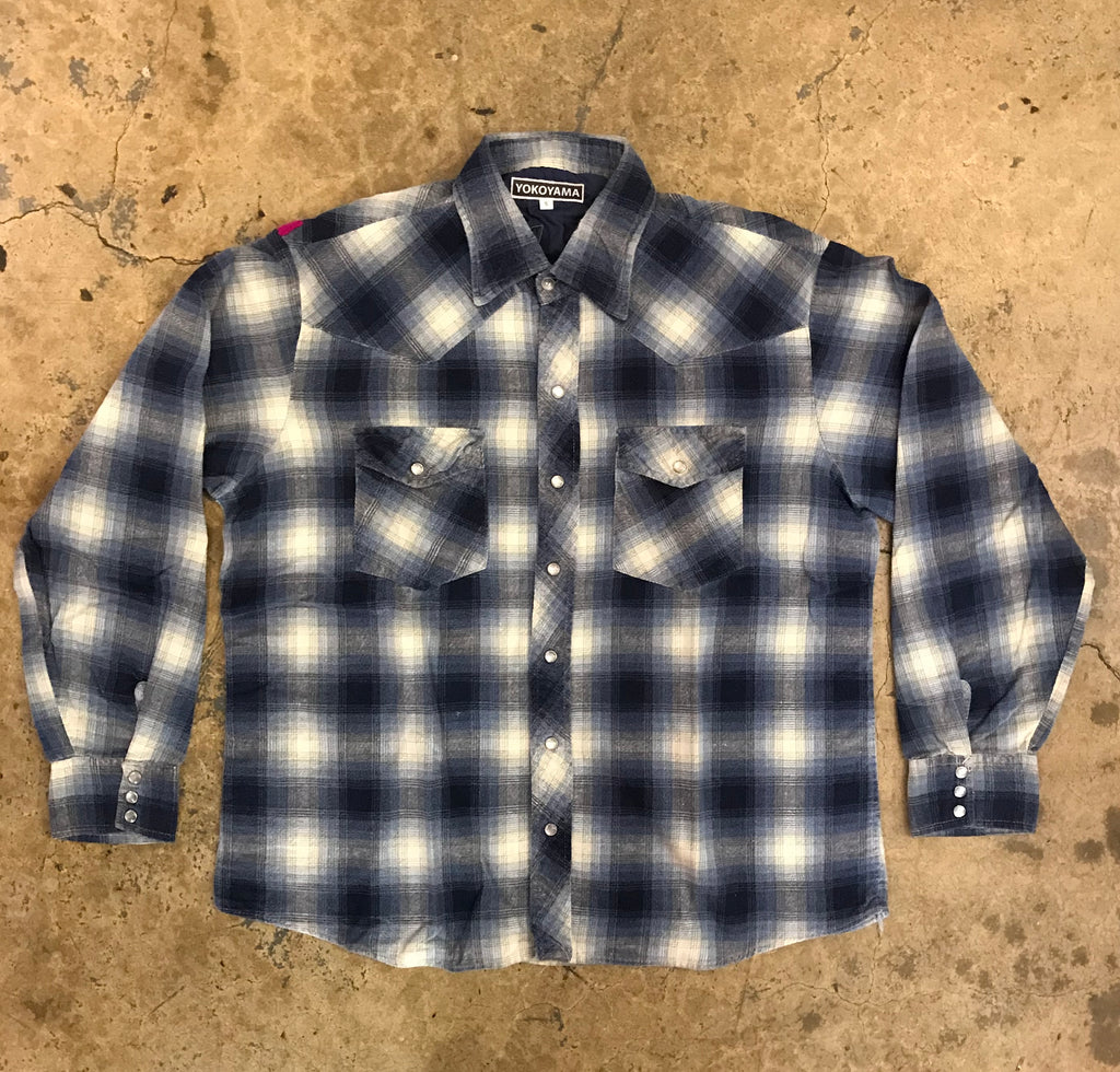 "Yokoyama - ""Hombre"" Plaid Button Down"