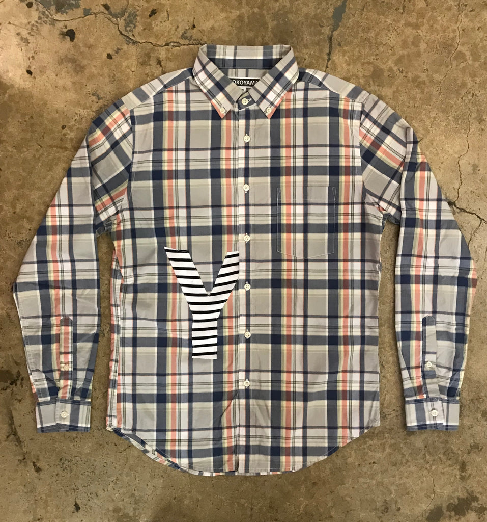 Yokoyama - Plaid Button Down
