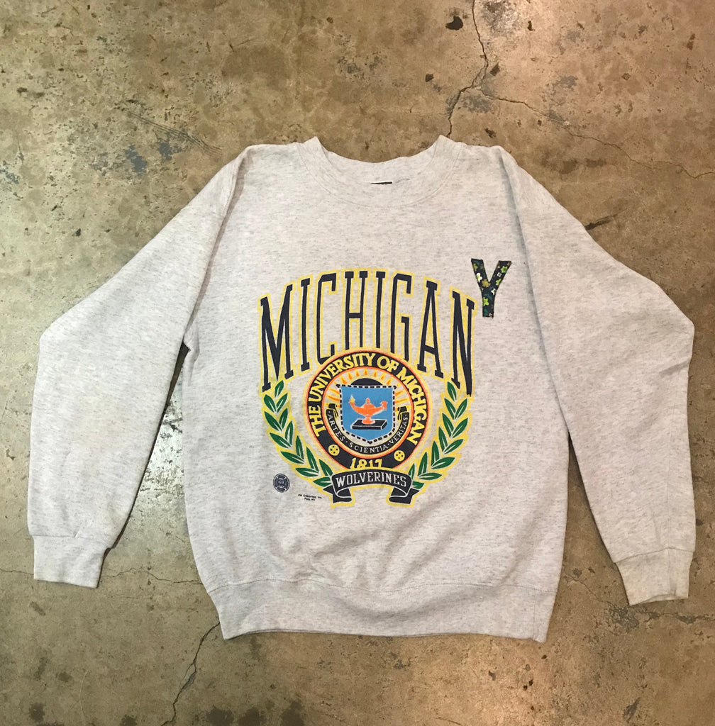 Yokoyama - VIntage Michigan Wolverines Sweatshirt