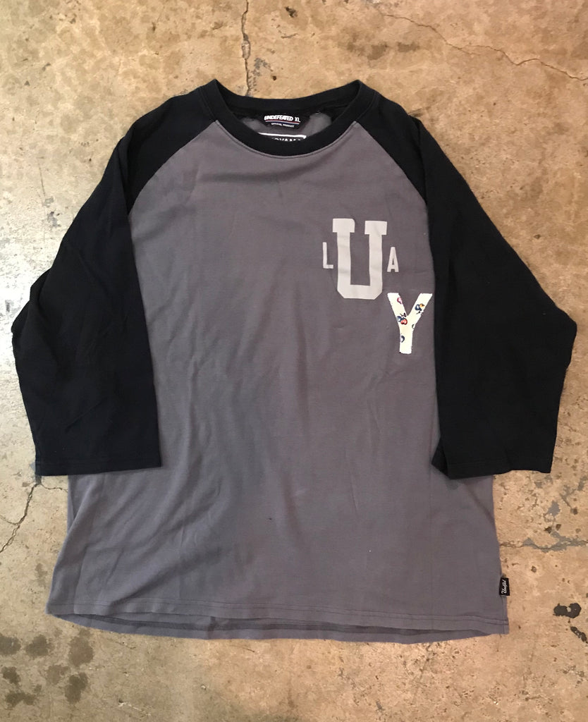 Yokoyama - Vintage Undefeated Baseball Cut T-Shirt