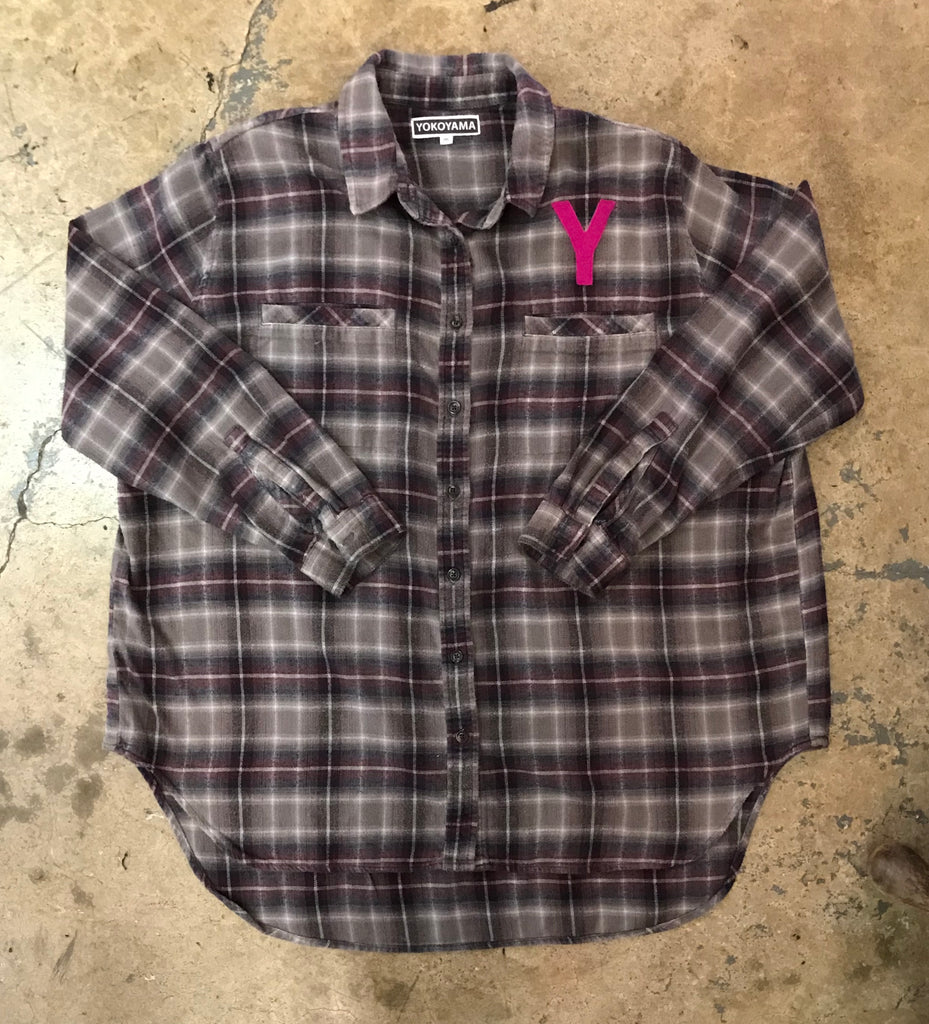 Yokoyama - Women's Plaid Flannel Shirt