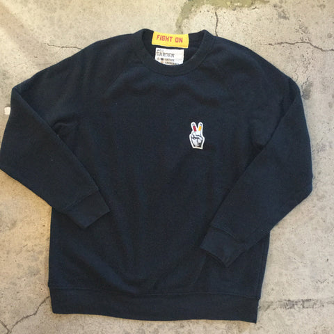 Fight On Fingers Crew Fleece