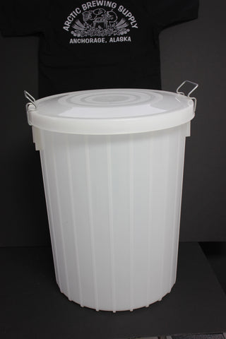 24 Gallon, Food-Grade Plastic Bucket with Lid