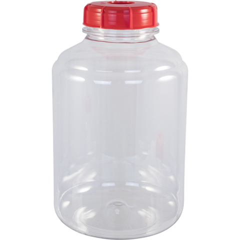 3 gallon Plastic Wide Mouth Carboy Fermenters