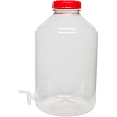 6 gallon PORTED Wide Mouth Plastic Carboy Fermenters with spigot