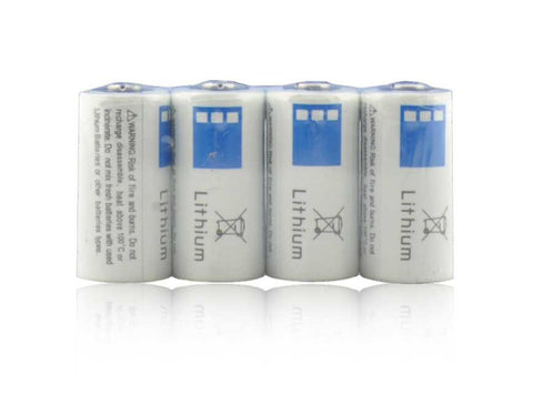Dakota Alert CR123A Replacement Batteries