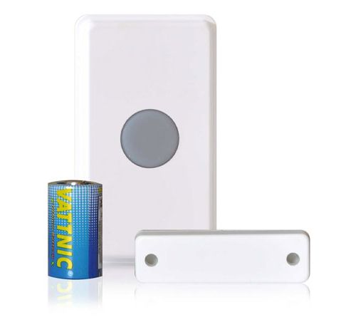 Dakota Alert 4000 Universal Transmitter Push Button, Magnetic Contact, Input