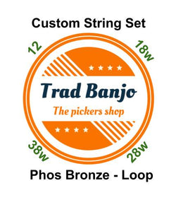 Phosphor Bronze Set - Loop - Medium