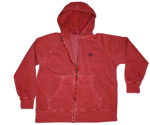 The Full Zip - Red Rock