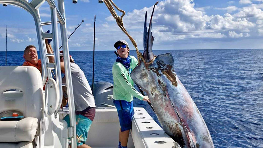 Giant Swordfish Shocks the Fishing World!