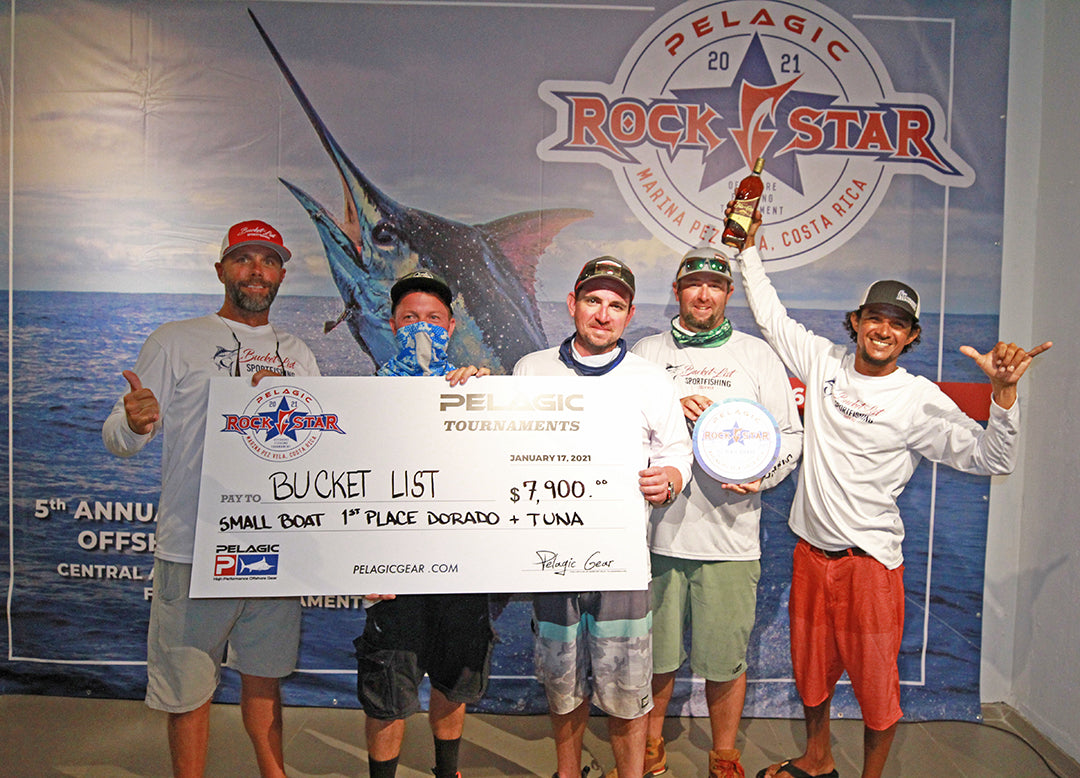 2021 Pelagic Rockstar Offshore Tournament_Bucket List