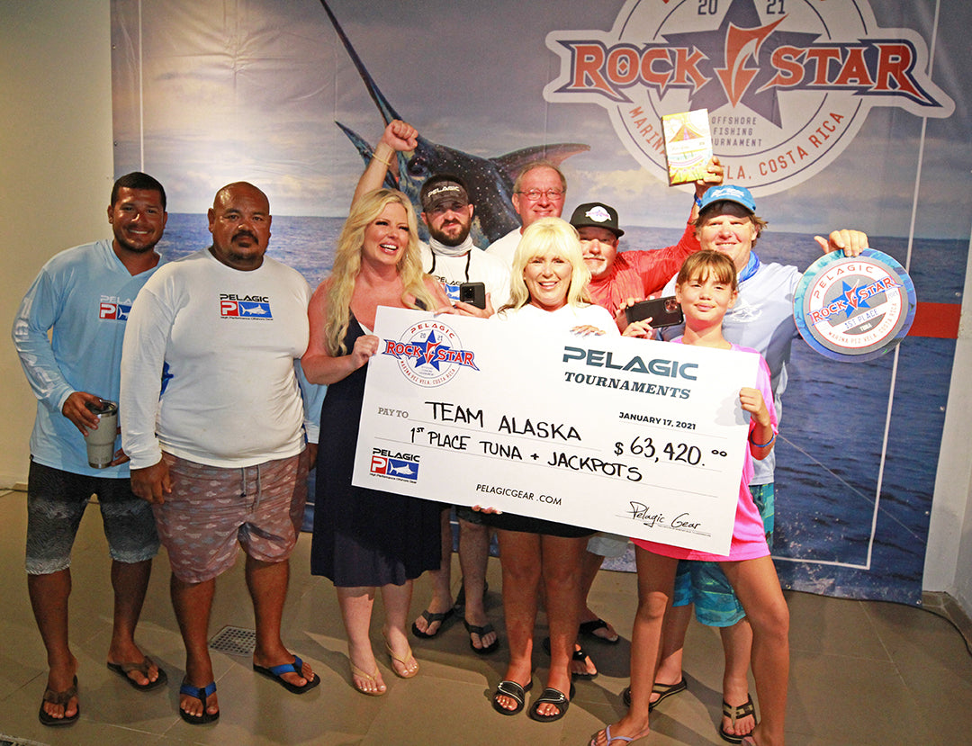 2021 Pelagic Rockstar Offshore Tournament_Dream Raiser Alaska