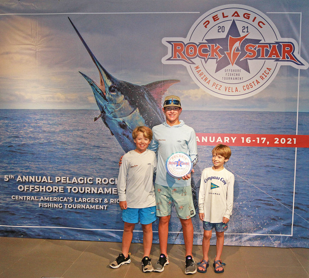 2021 Pelagic Rockstar Offshore Tournament_Top Junior Angler