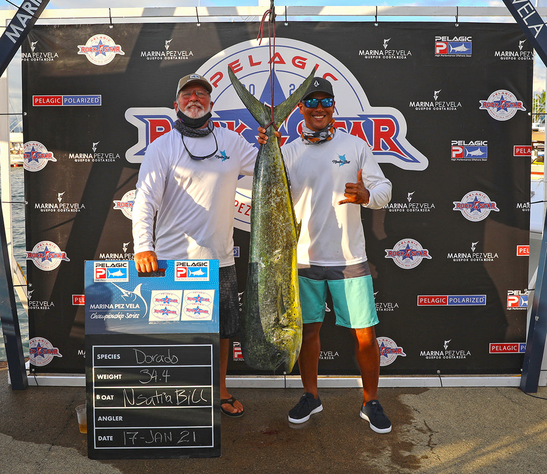 Dorado Champion_NSATIA BILL_Pelagic Rockstar Tournament Costa Rica
