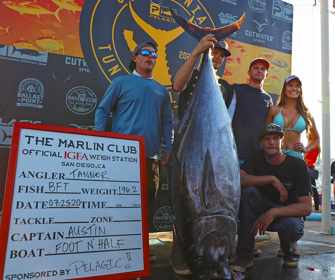 Pelagic CA Tuna Challenge-Weigh-ins-Foot-N-Half