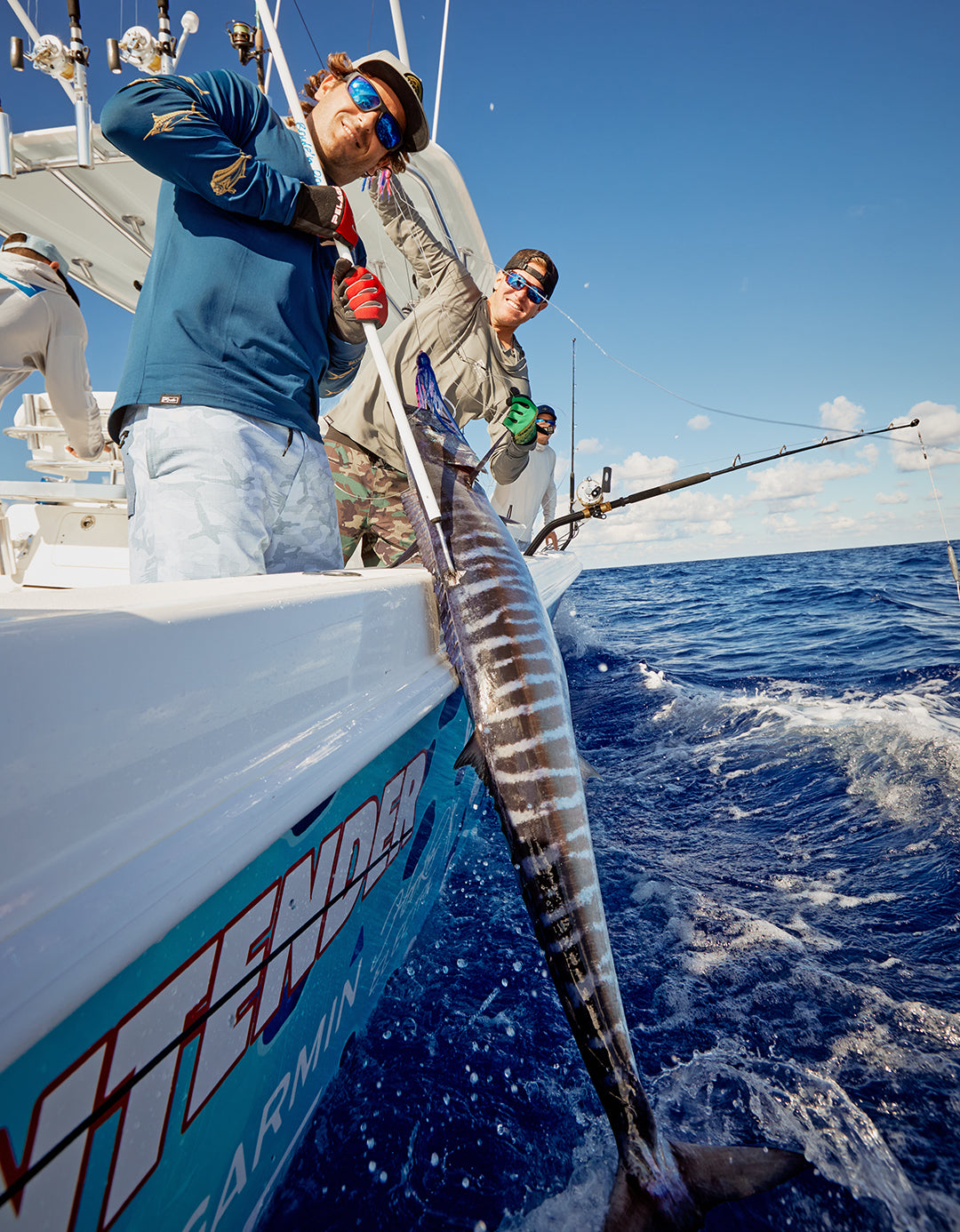 High Speed Trolling Wahoo-Pelagic-Bahamas
