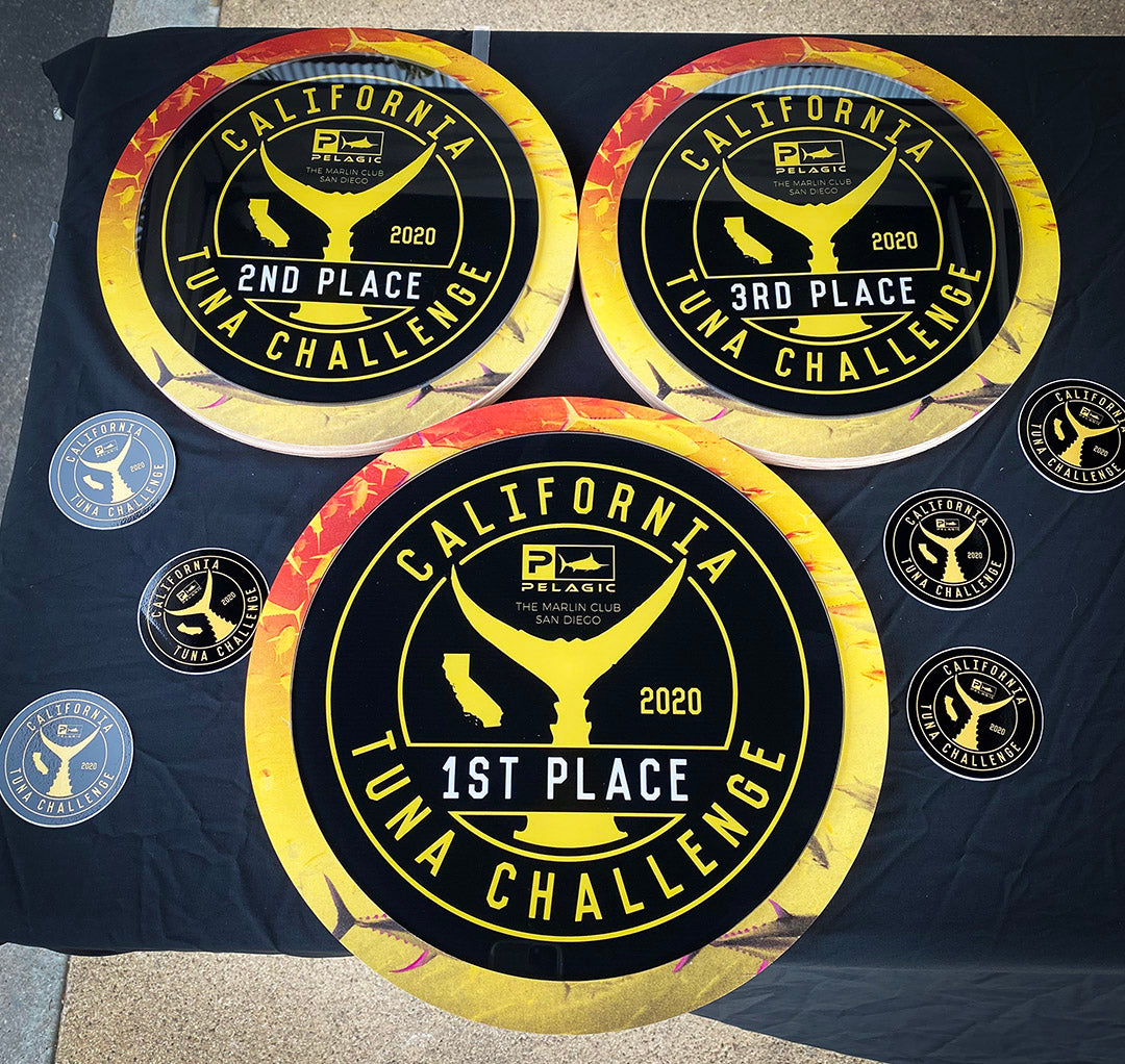 Pelagic California Tuna Challenge_Trophies