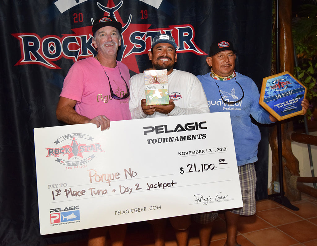 Pelagic Rockstar Tuna Tournament Awards Ceremony Porque No