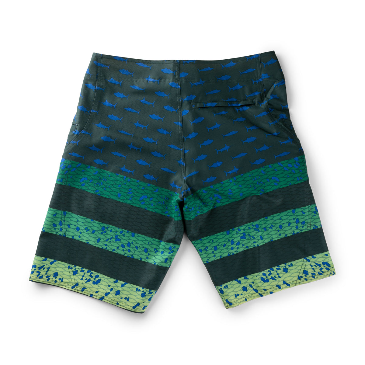 Sharkskin Americamo Fishing Boardshort - Youth Big Image - 3