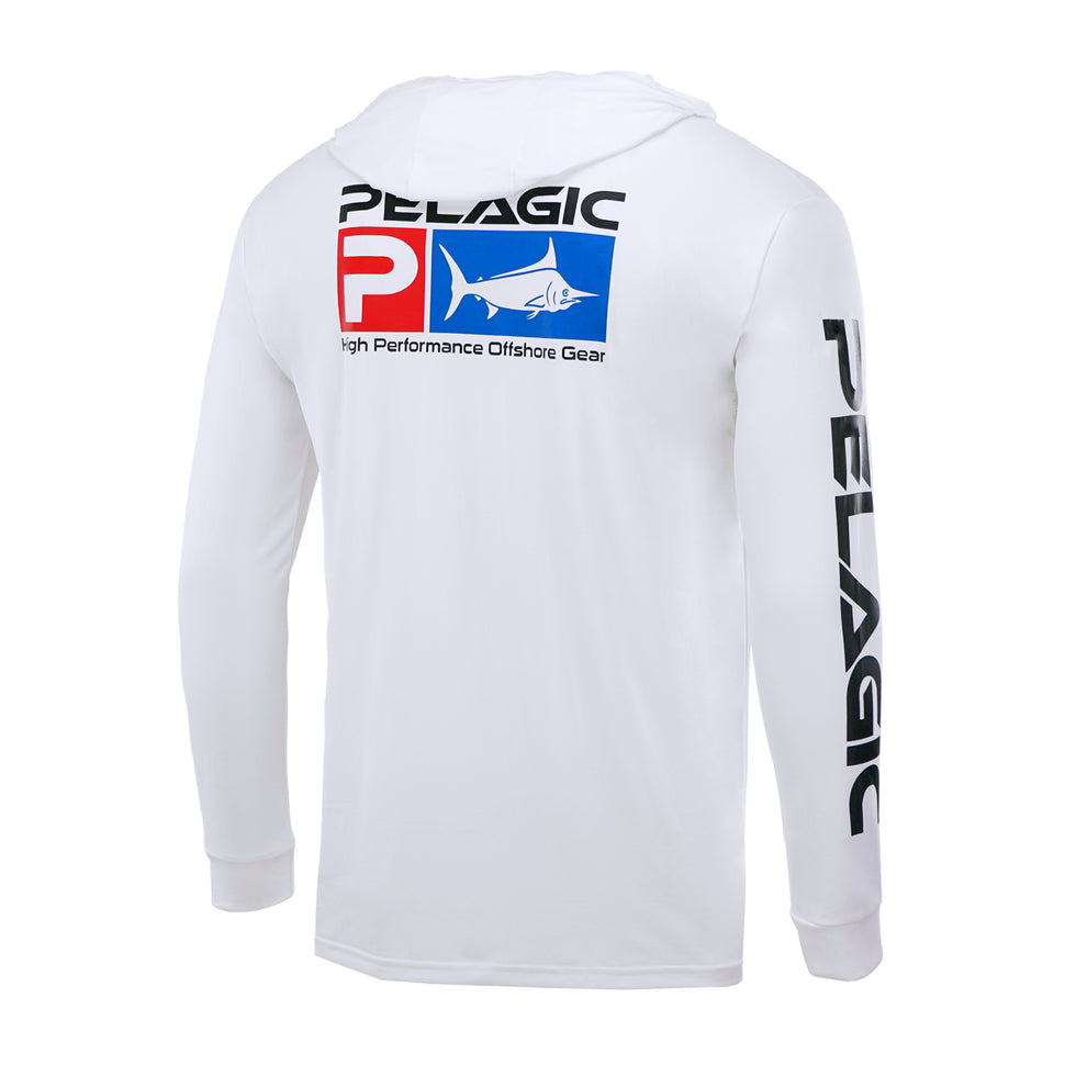 Aquatek Deluxe Hoodie Fishing Shirt Big Image - 1