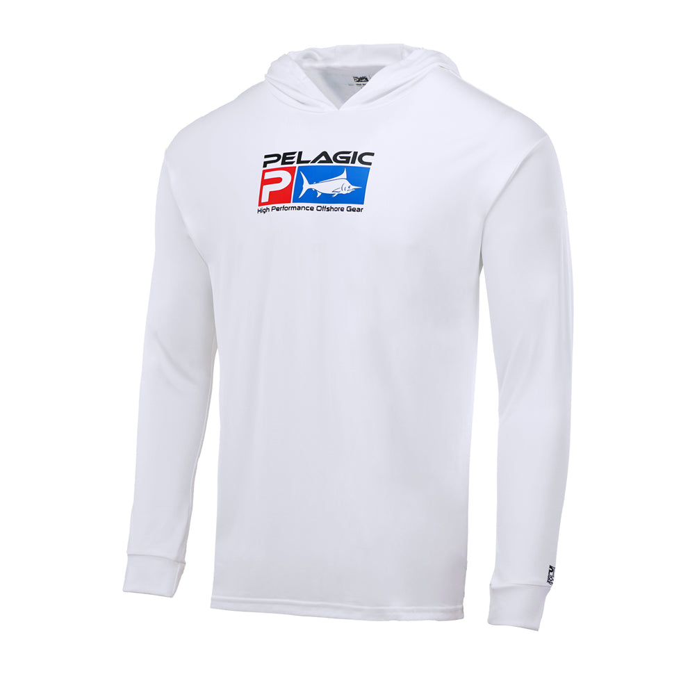 Aquatek Deluxe Hoodie Fishing Shirt Big Image - 2
