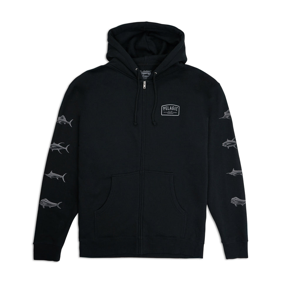 Game Fish Hoodie Big Image - 2