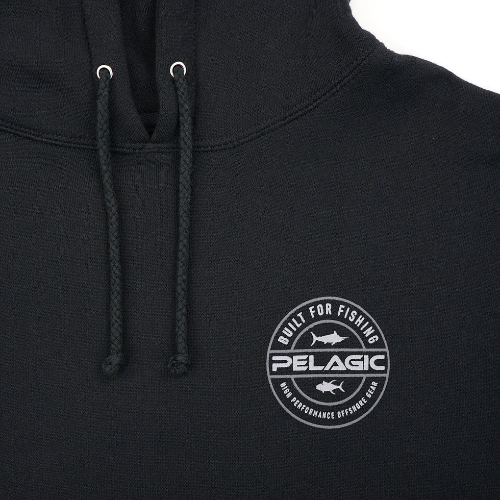 Built For Fishing Hoodie Big Image - 4