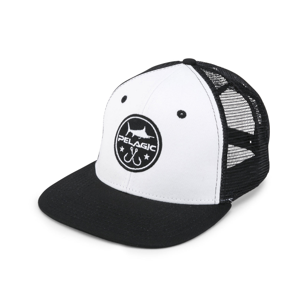 Icon Snapback Fishing Hat Big Image - 1