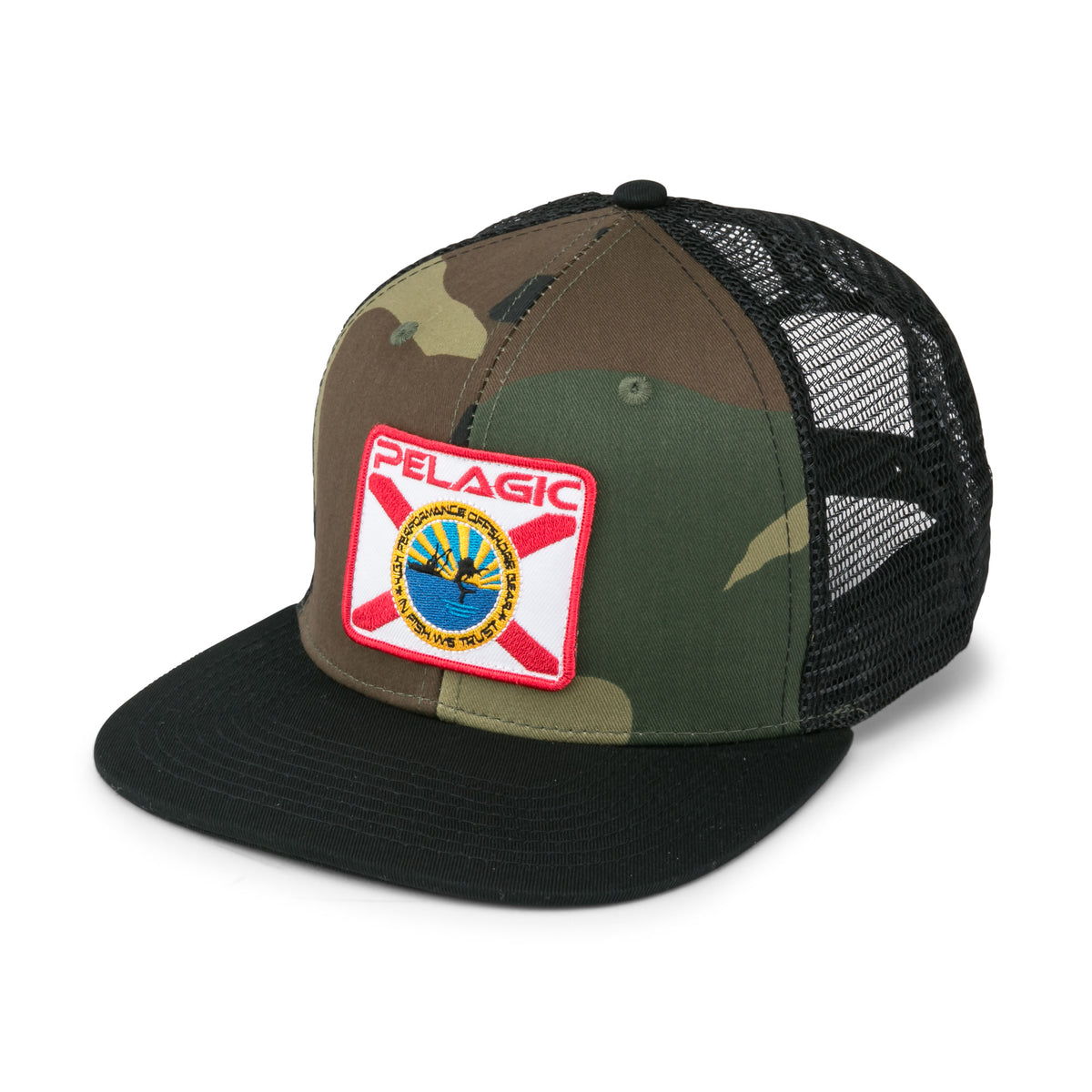 Sailfish Republic Snapback Fishing Hat Big Image - 1