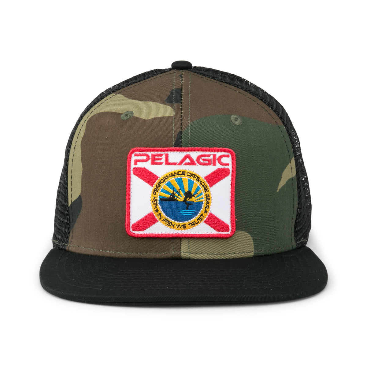 Sailfish Republic Snapback Fishing Hat Big Image - 2
