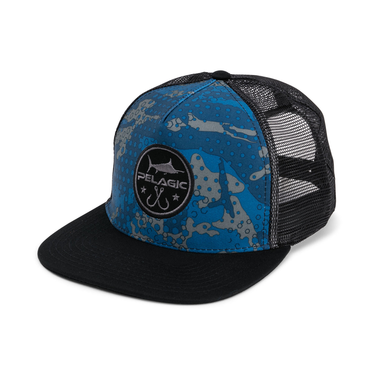 Ambush Camo Snapback Hat Big Image - 1
