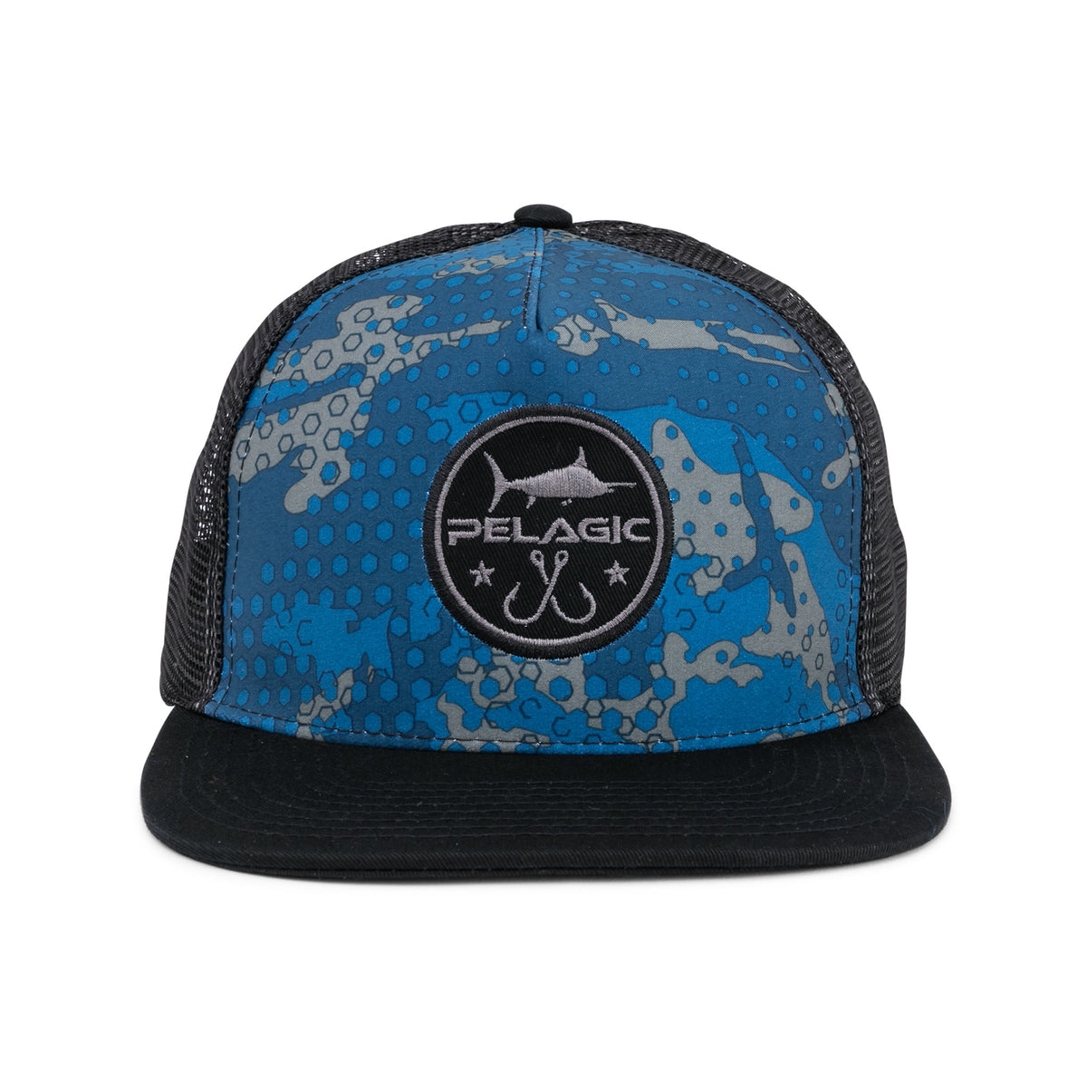 Ambush Camo Snapback Hat Big Image - 3