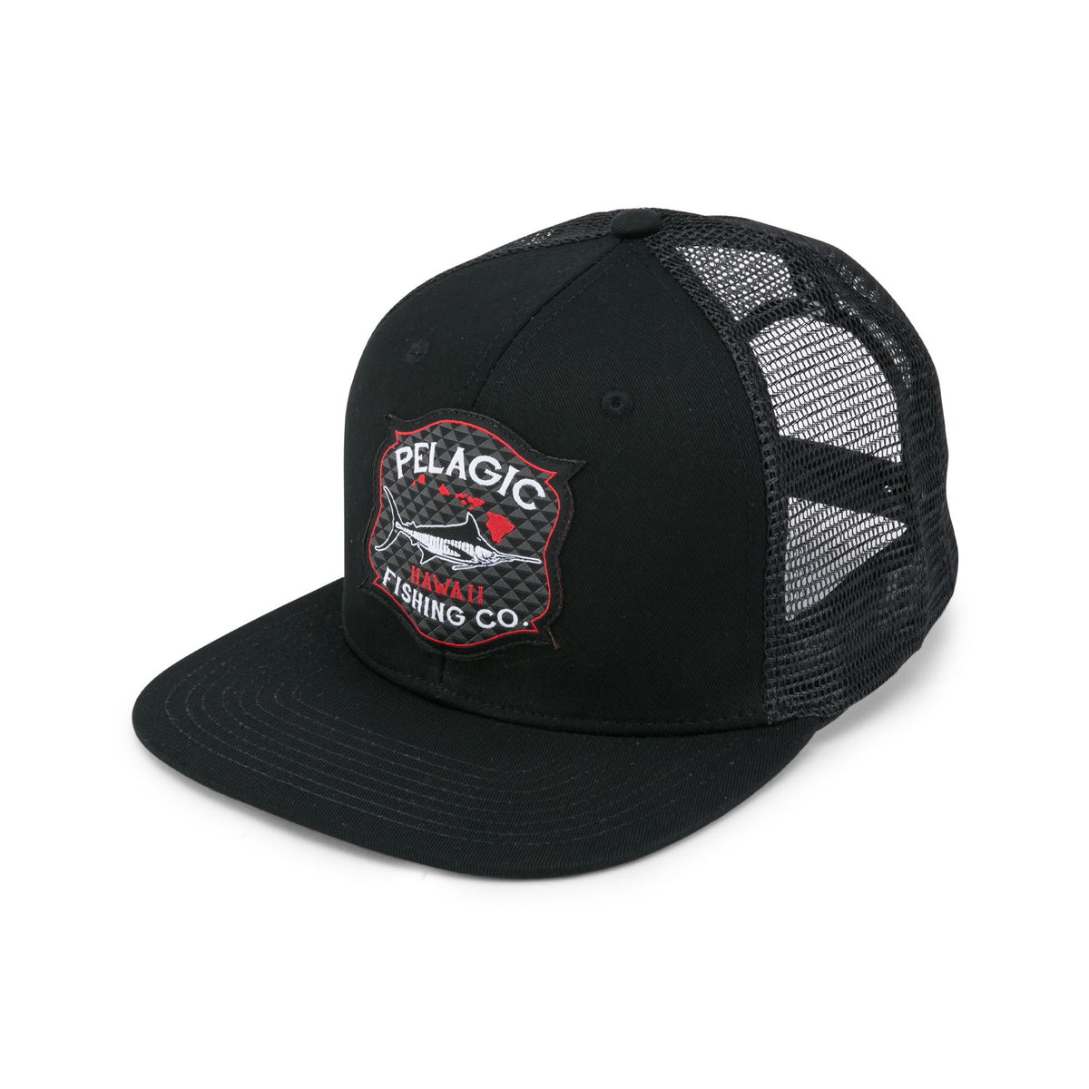 Hawaii Fishing Co. Snapback Fishing Hat Big Image - 1