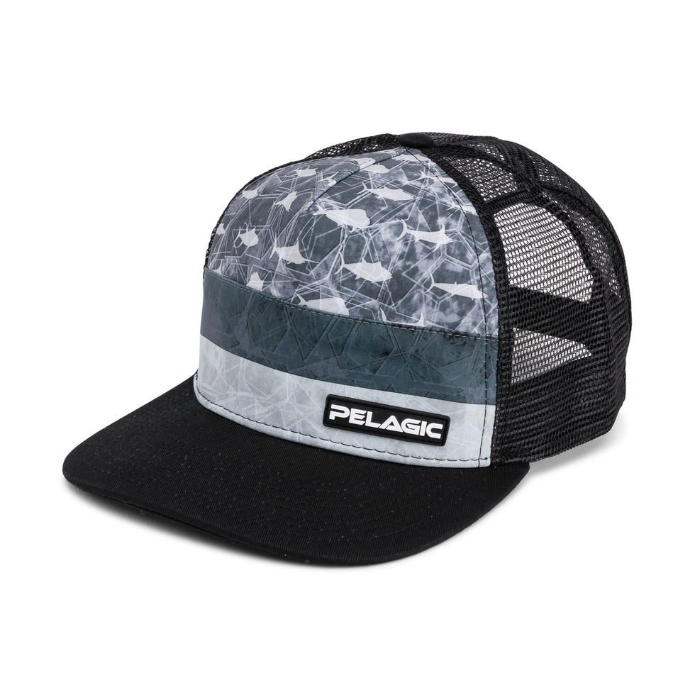 Alpha Snapback Fishing Hat Big Image - 1