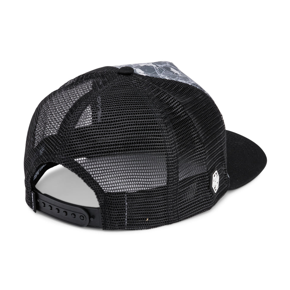 Alpha Snapback Fishing Hat Big Image - 2