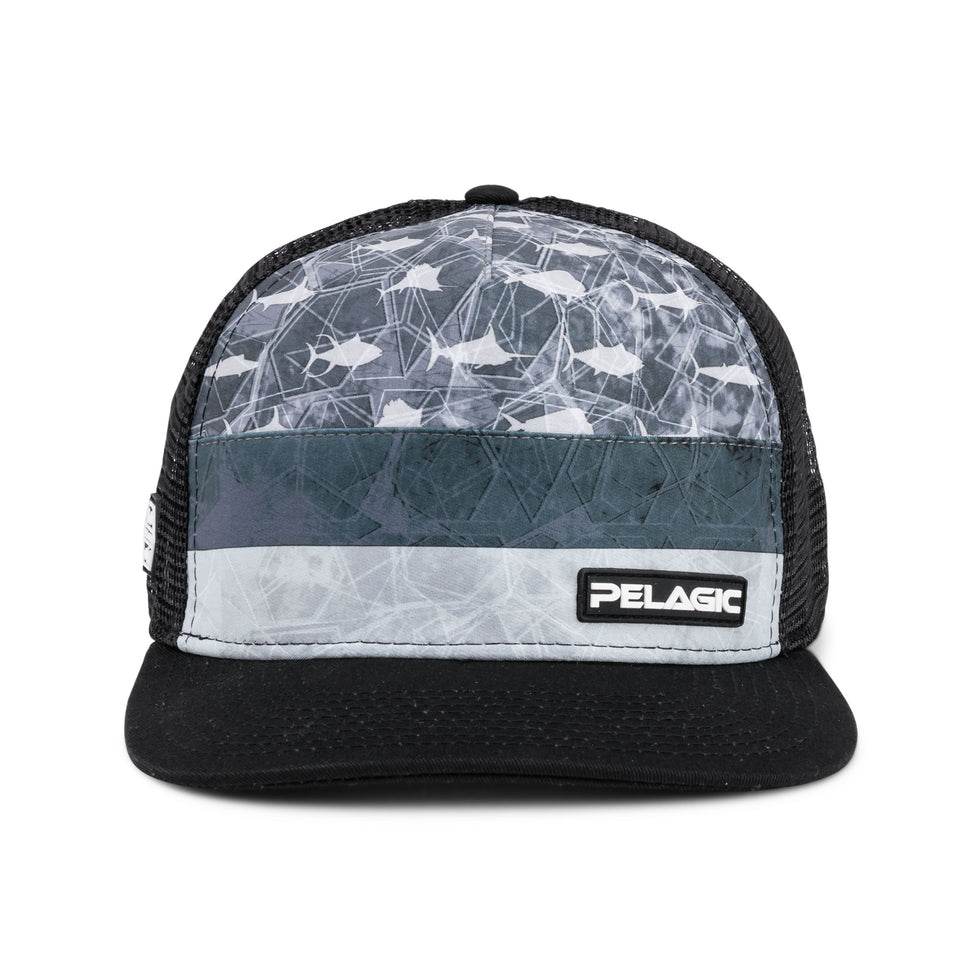 Alpha Snapback Fishing Hat Big Image - 3
