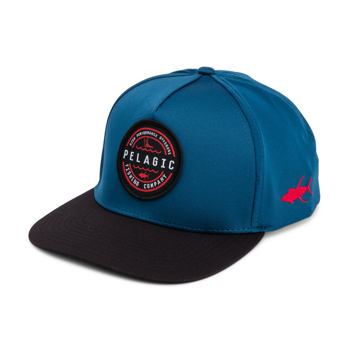 Swells Performance Snapback Hat Big Image - 1