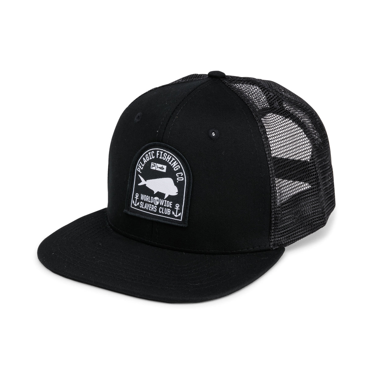 Worldwide Slayer Snapback Hat Big Image - 1