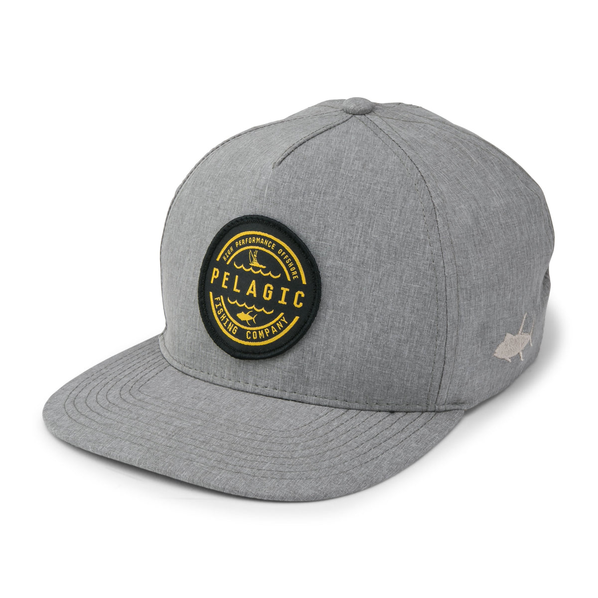 Deep Sea Snapback Hat Big Image - 1