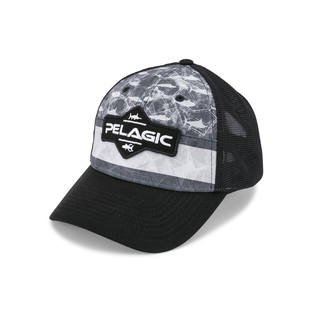 Offshore Print Fishing Hat Big Image - 1