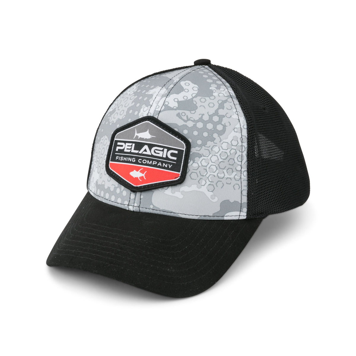 Offshore Print Fishing Hat - Duo Big Image - 1