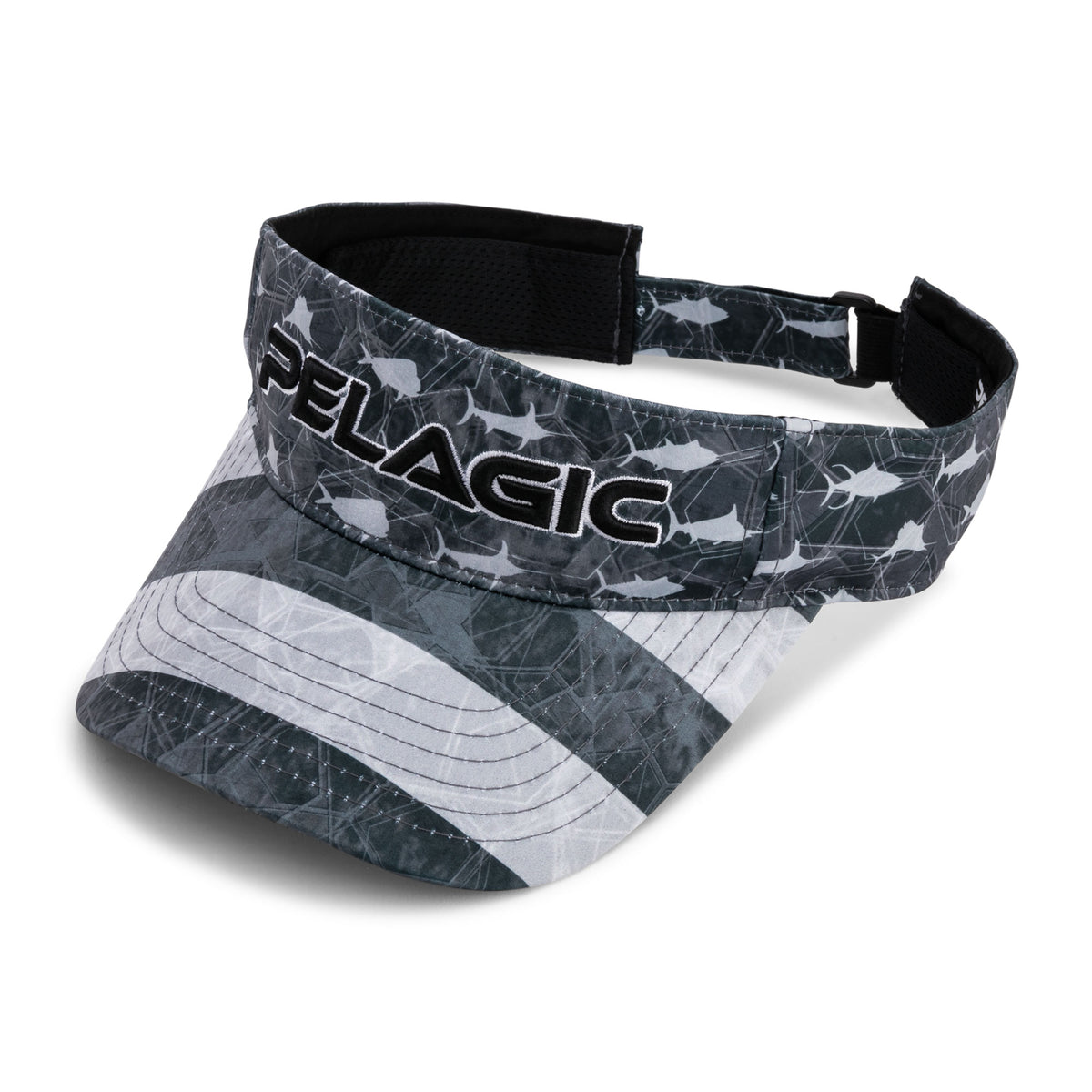 Performance Print Fishing Visor Big Image - 1